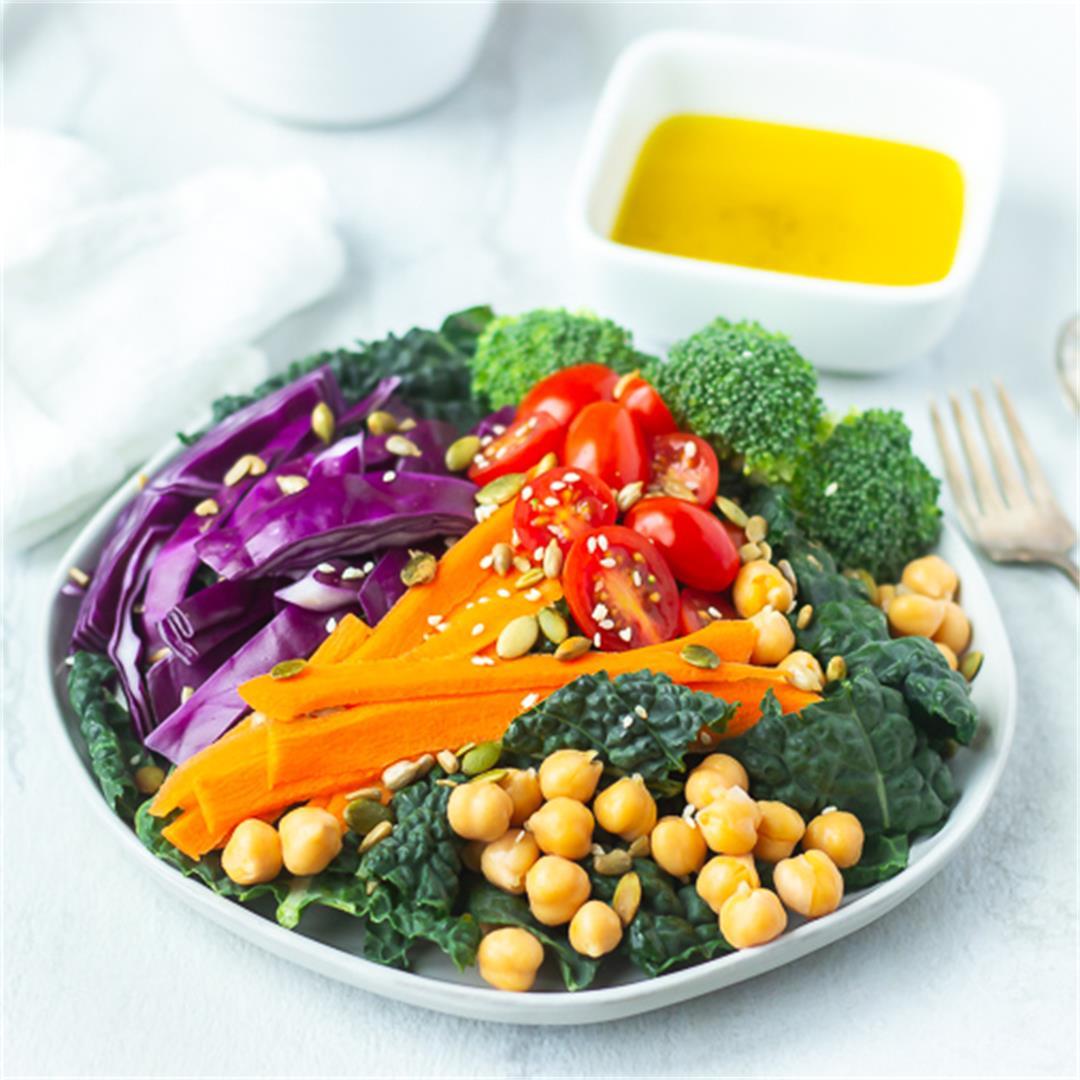 Kale Detox Salad Recipe