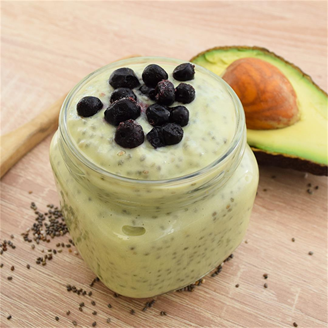 A&D Kitchen Avocado Chia Pudding