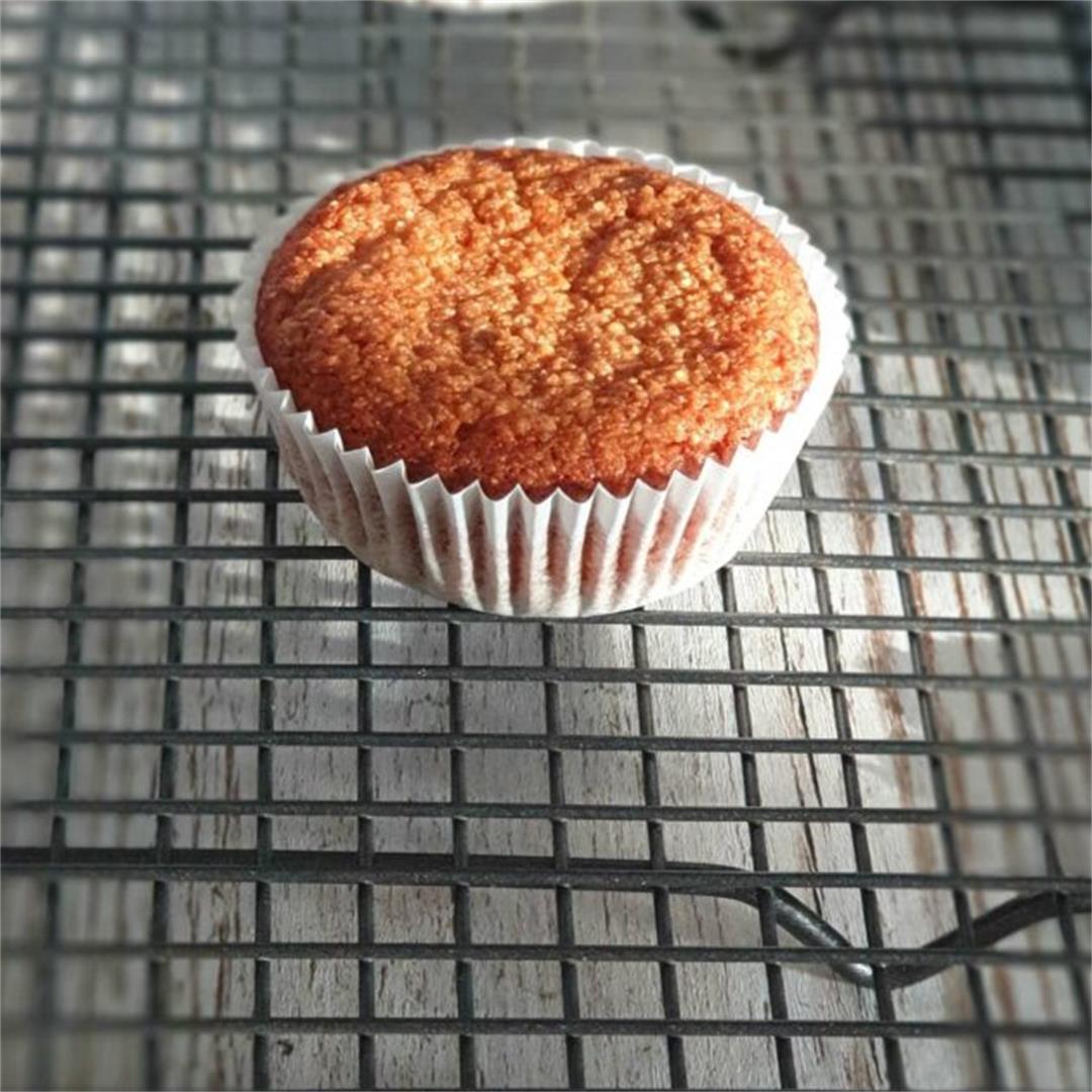 Golden Paleo Muffins – Gluten-Free/Paleo/Vegetarian