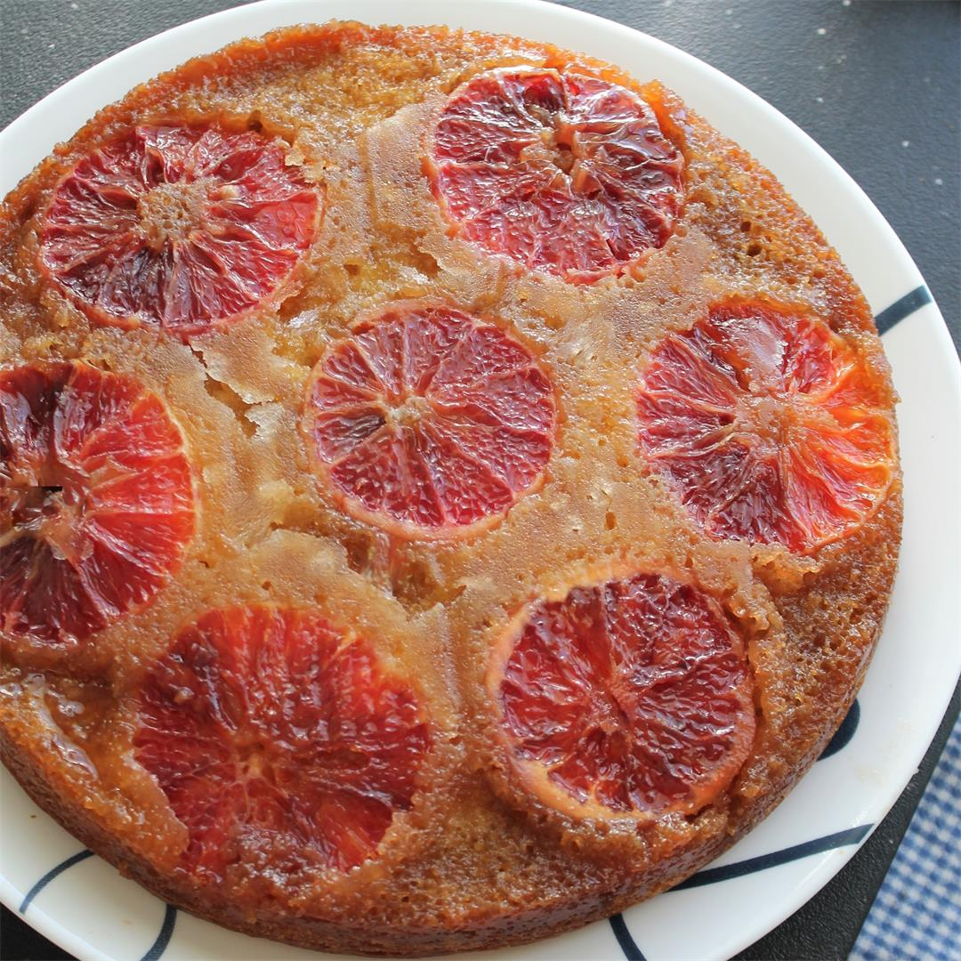 Blood Orange Upside-Down Cake (The Cake Slice Bakers) – My Reci