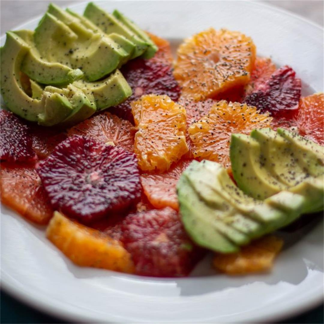 Delicious Mixed Citrus and Avocado Salad