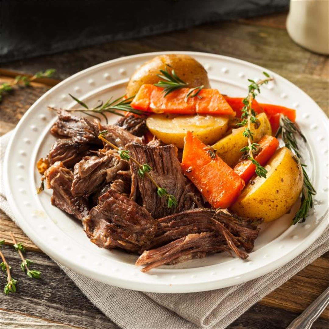 Instant Pot Pot Roast (Melt-In-Your-Mouth)