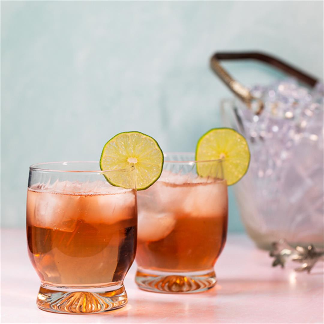 Raspberry Vodka Tonic