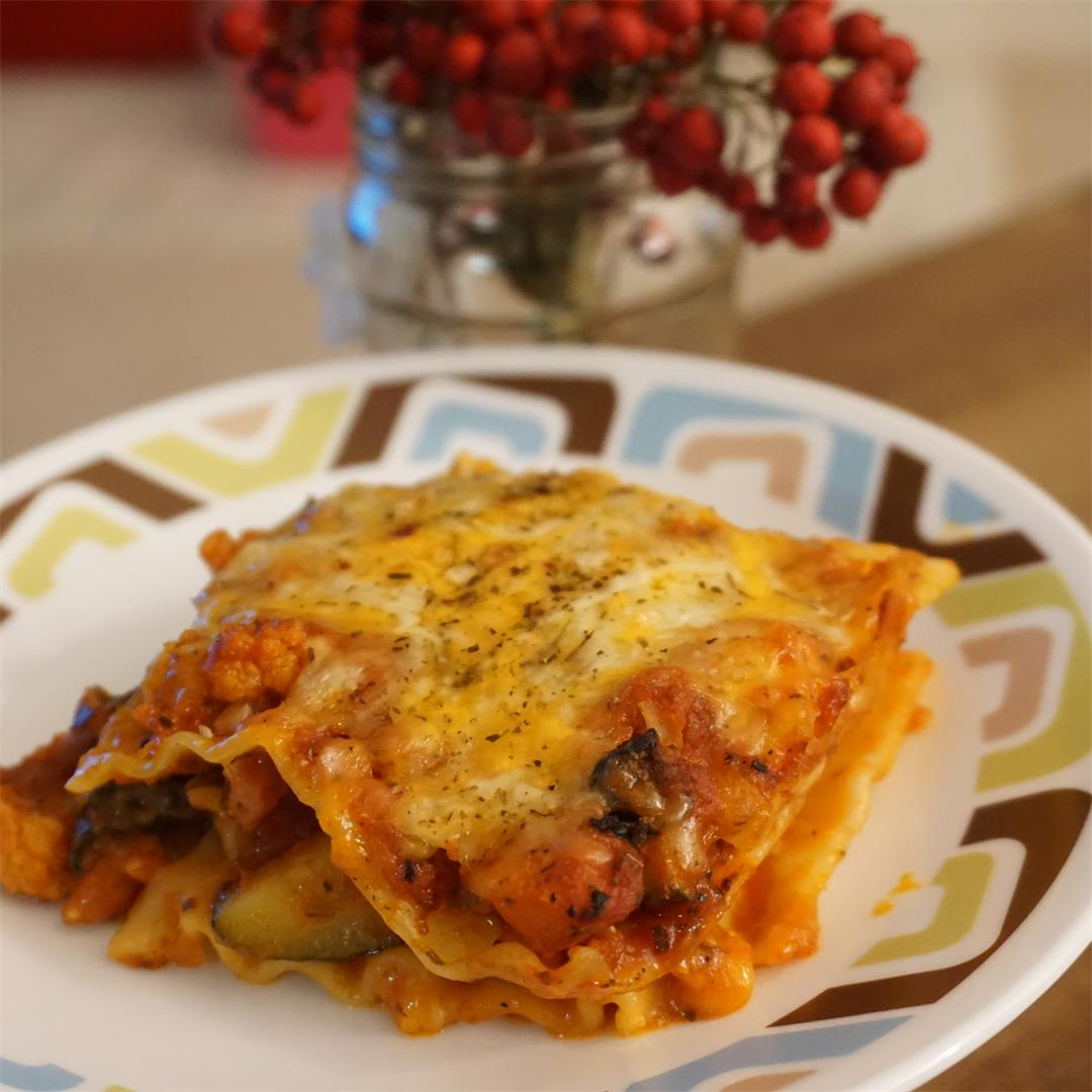 Classic Vegetable Lasagna Recipe