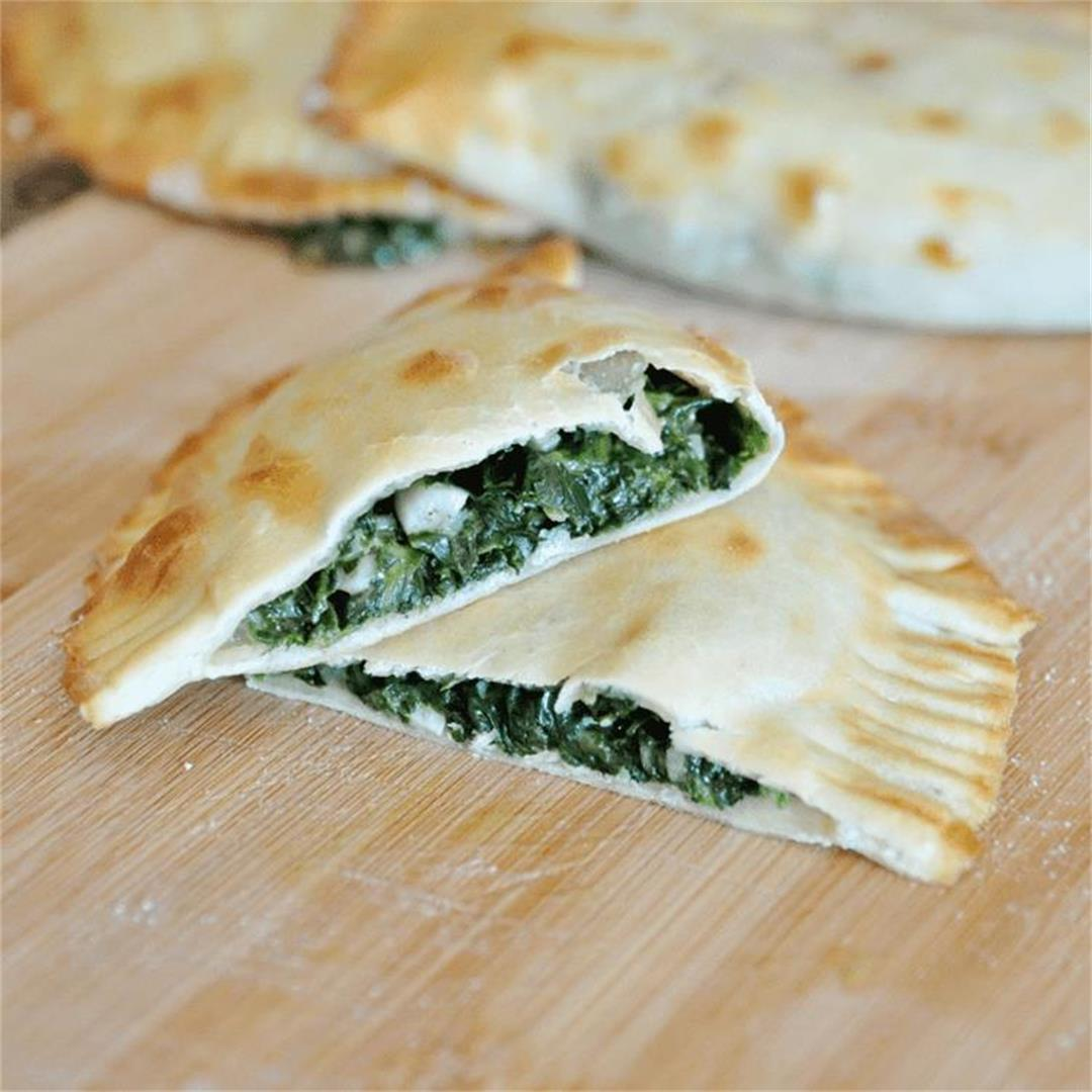 EPIC Spanish EMPANADAS with SPINACH & CHEESE