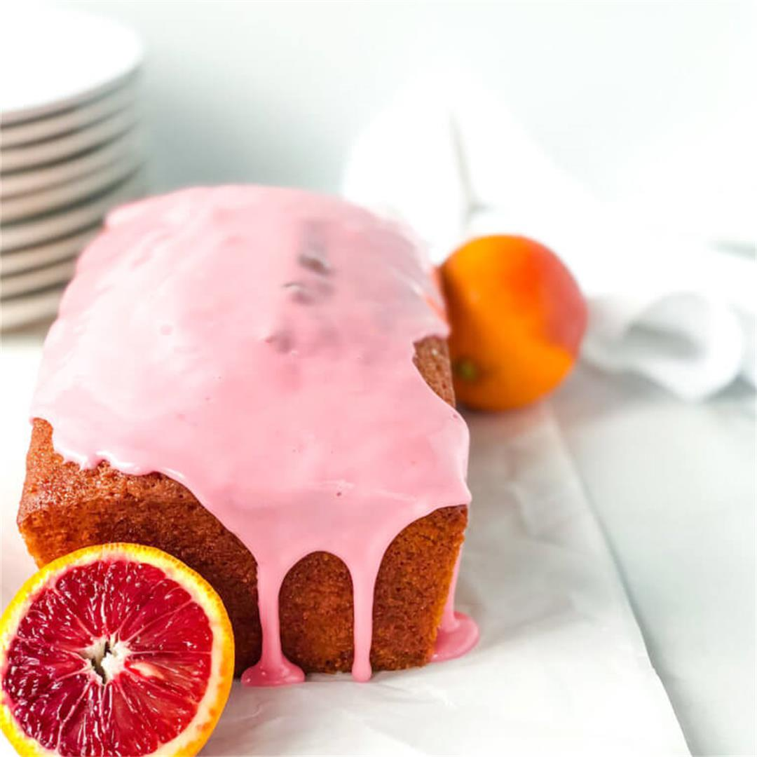 Easy Blood Orange Olive Oil Loaf