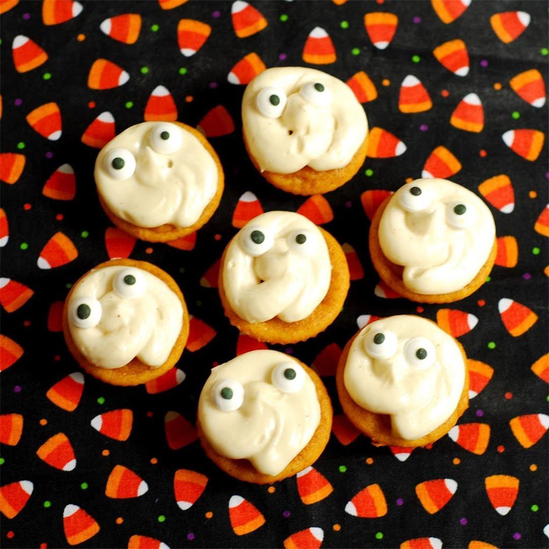 Pumpkin Ghost Cupcakes