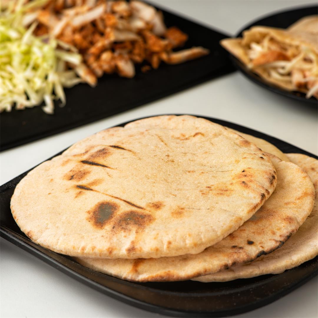 Pita Bread/ Arabic Pita/ Homemade Pita Bread recipe