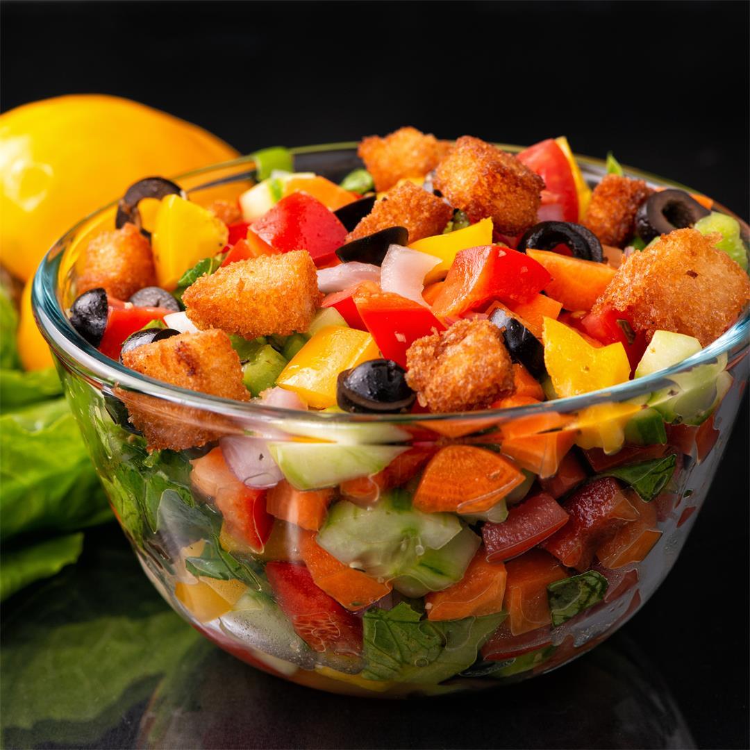 Vegetable Salad/ Healthy Salad/ Mediterranean Salad