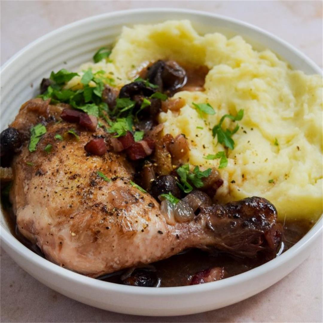 Recipe: Slow Cooker Coq au Vin