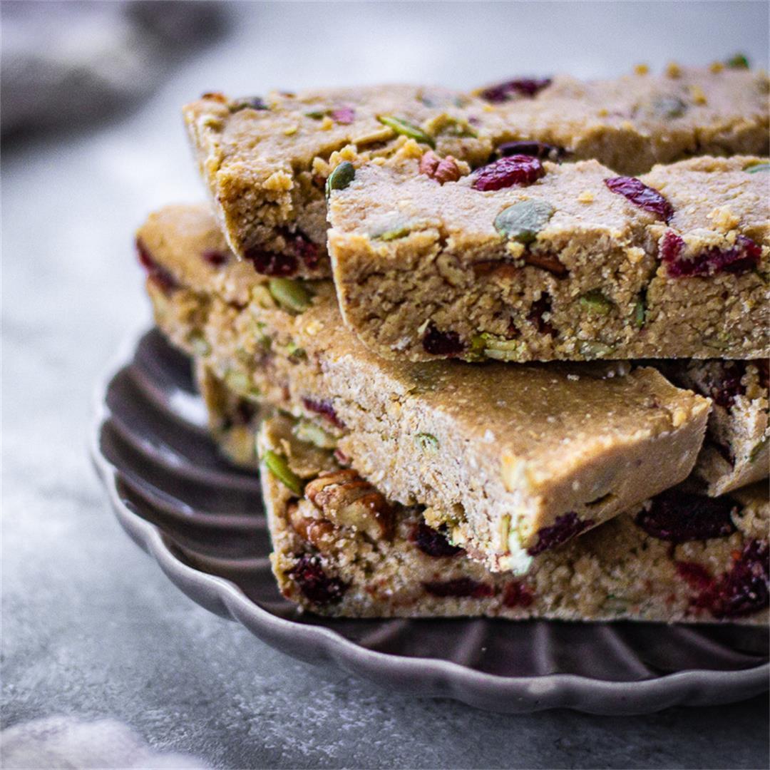 6-Ingredient Granola Bars (vegan & gluten-free)