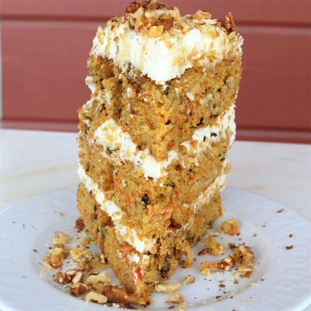 Maple Carrot Cheese Cake