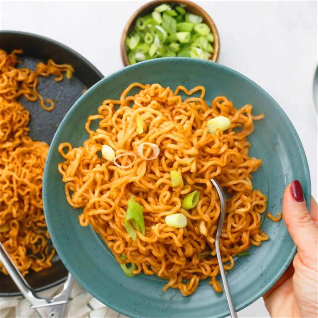 5-Ingredient BBQ Ramen Noodles