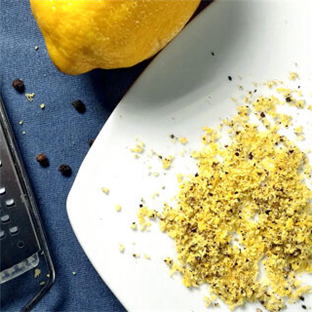 Easy Homemade Lemon-Pepper Seasoning