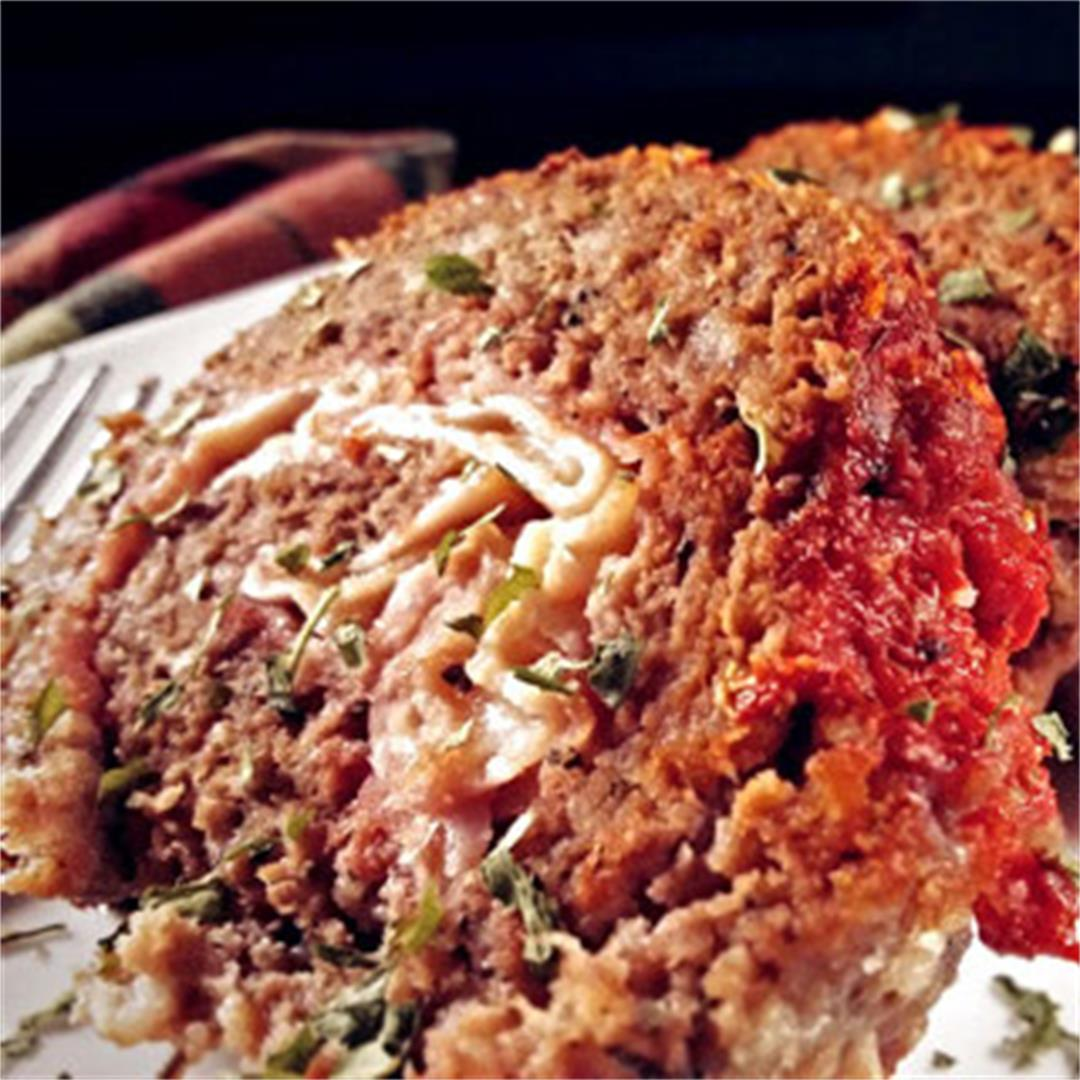 Ham and Cheese Stuffed Meatloaf