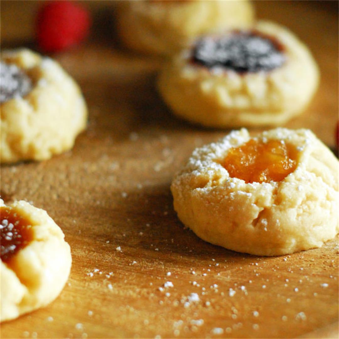 Mix and Match Thumbprint Cookies