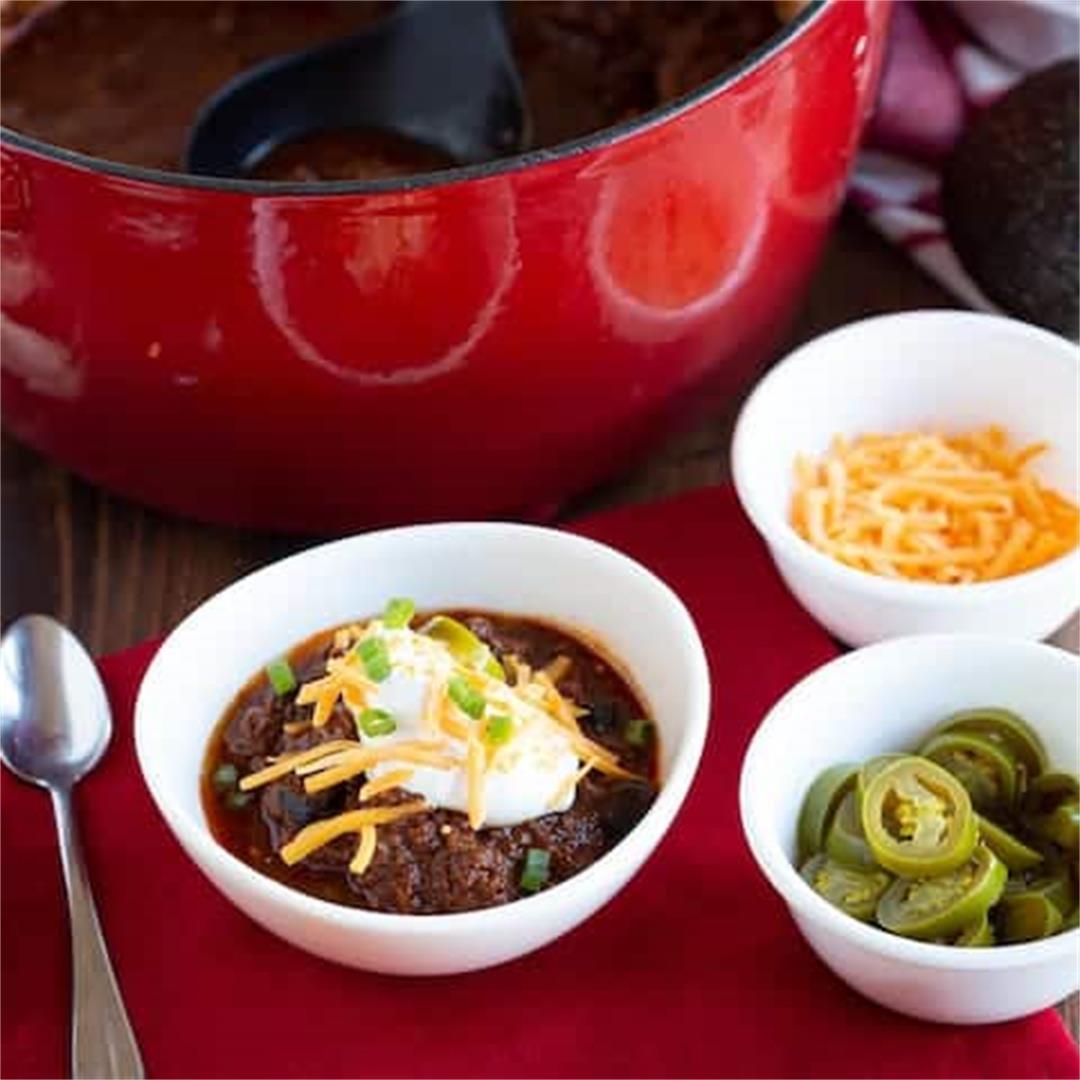 Texas Style Keto Chili Recipe