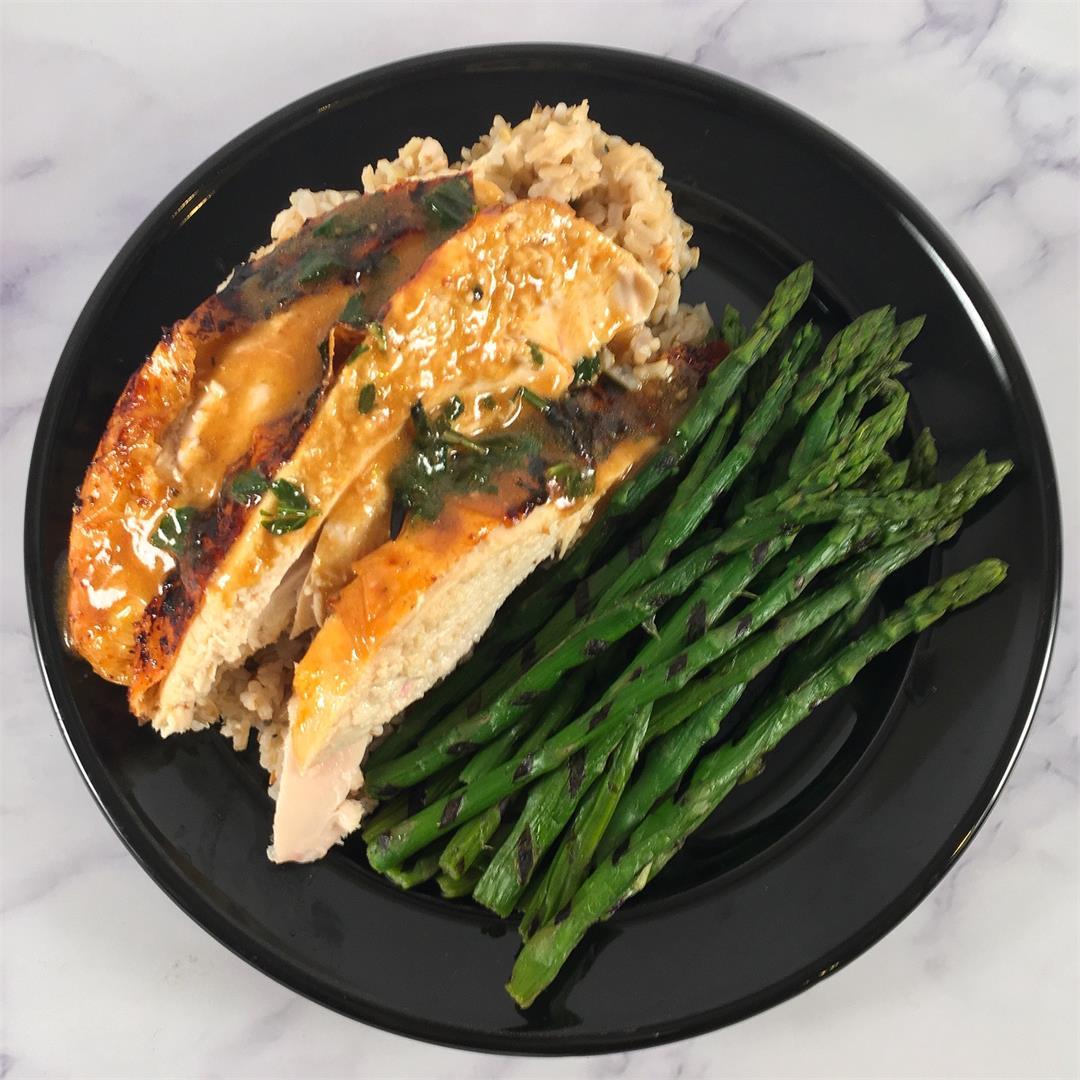 Chicken and Gravy Over Rice