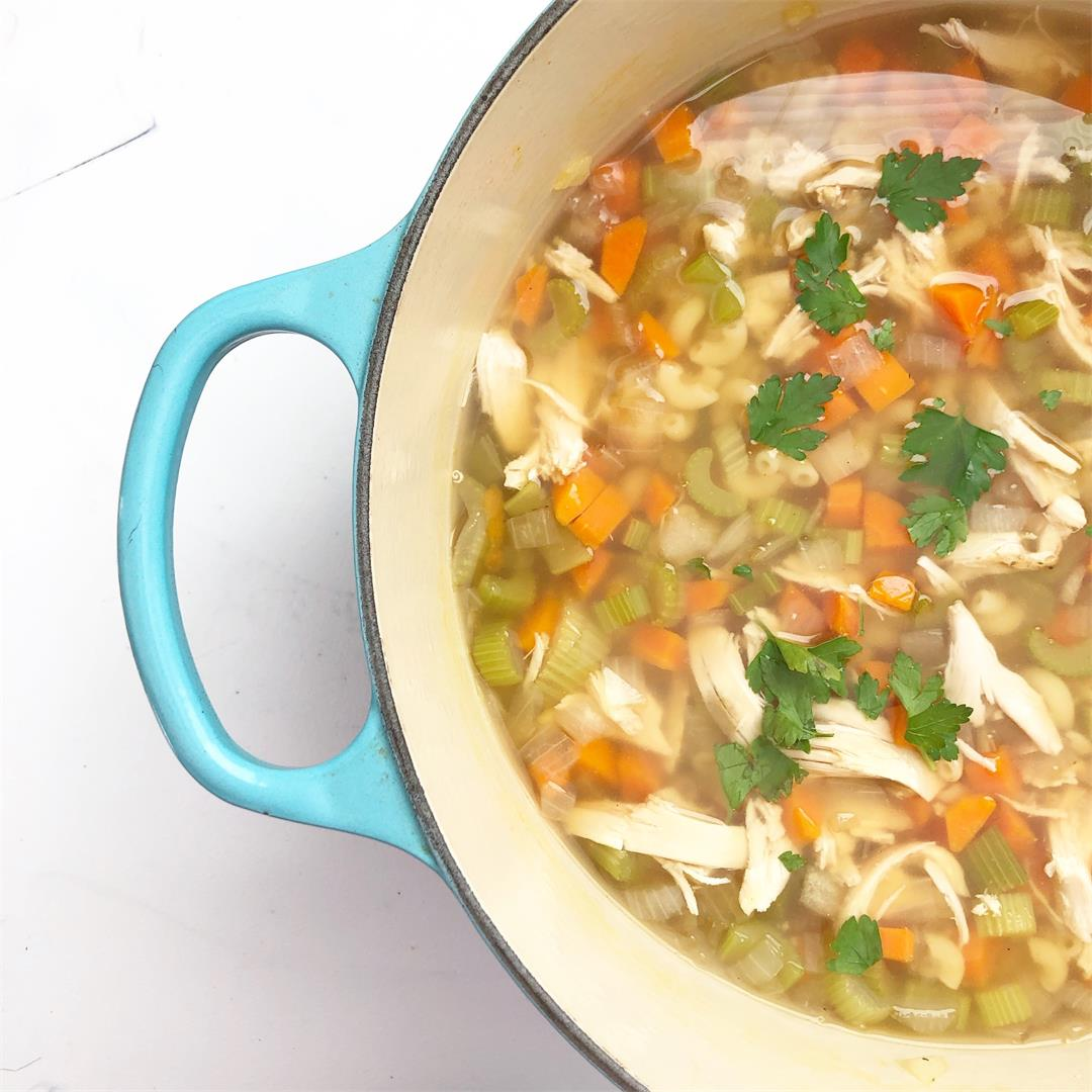 The Best Classic Chicken Noodle Soup