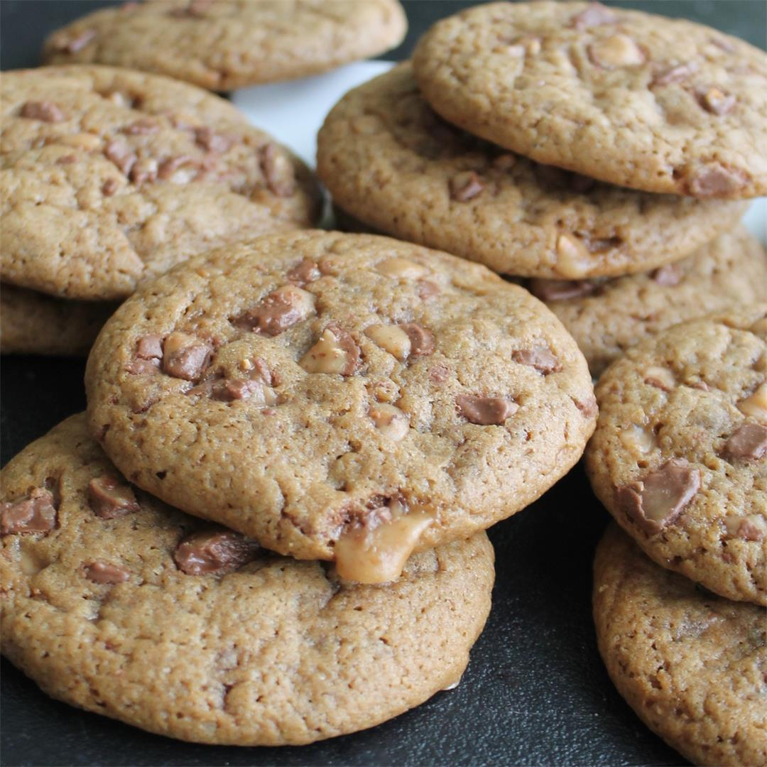 Small Batch Coffee-Toffee Cookies – My Recipe Reviews