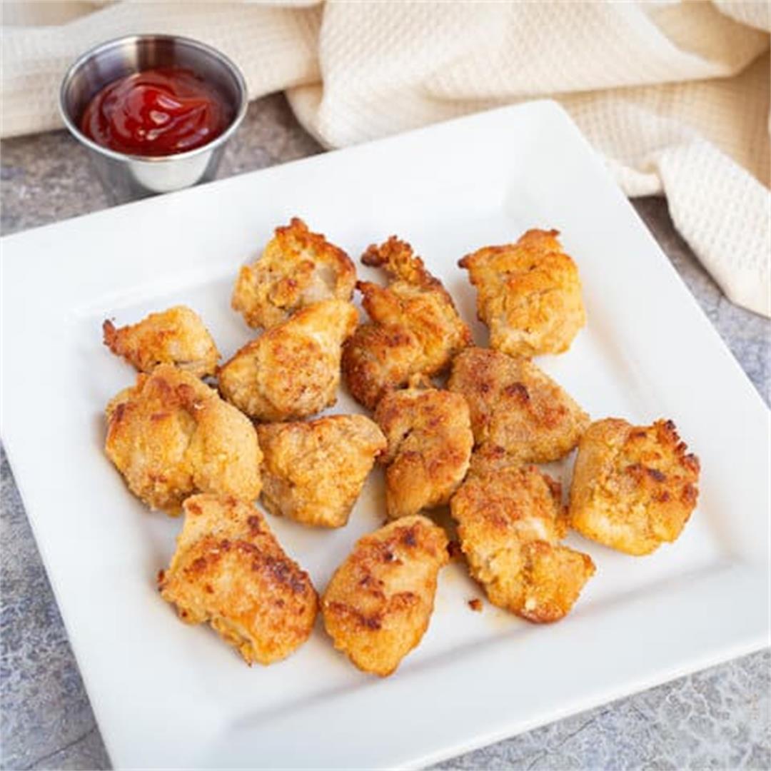Keto Chicken Nuggets (Gluten-Free, Paleo)