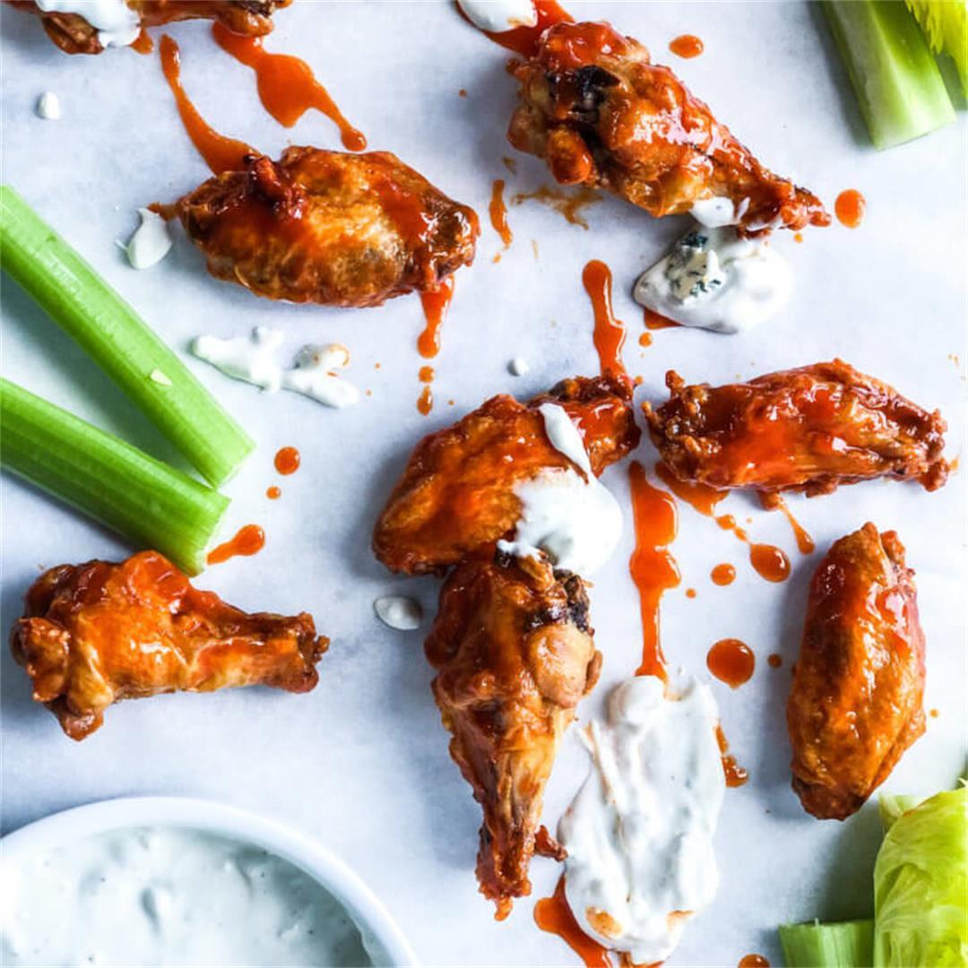 Crispy Oven Fried Chicken Wings