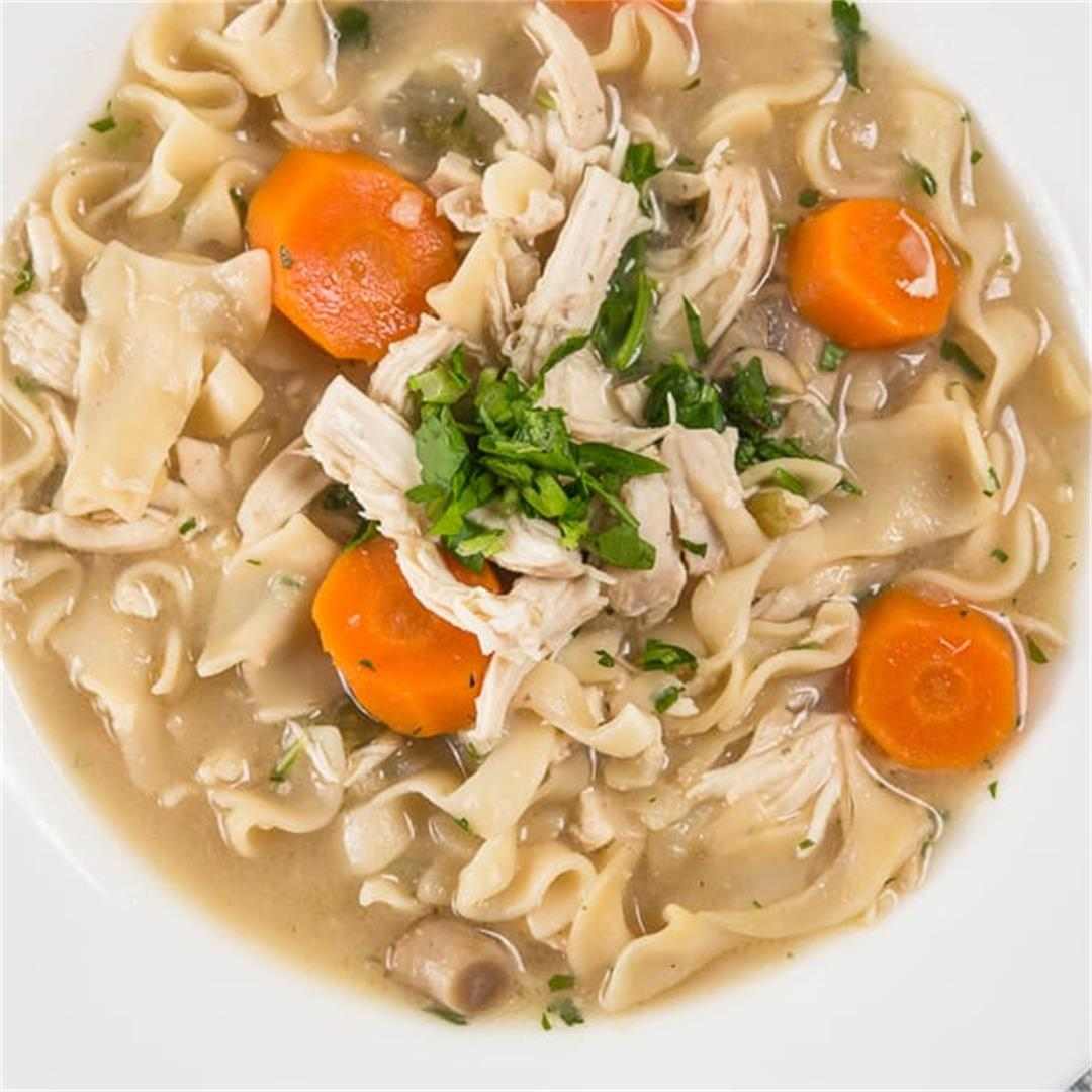 Easy Instant Pot Chicken Noodle Soup