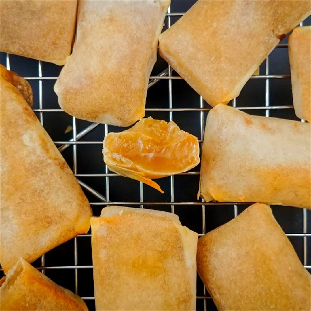 Rice Cake Spring Rolls (Crispy and Delicious)