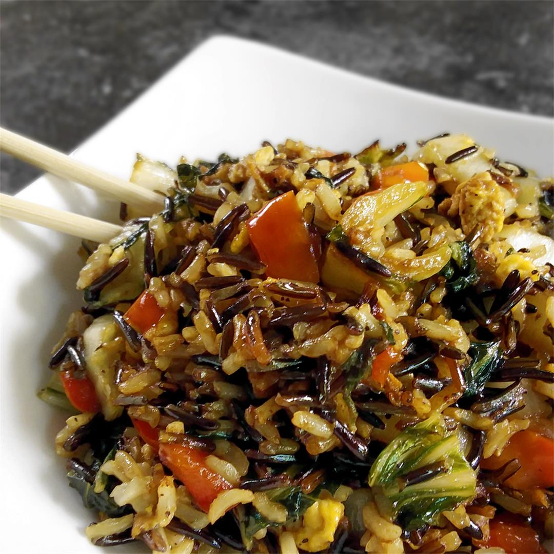 Chunky Vegetable Fried Rice
