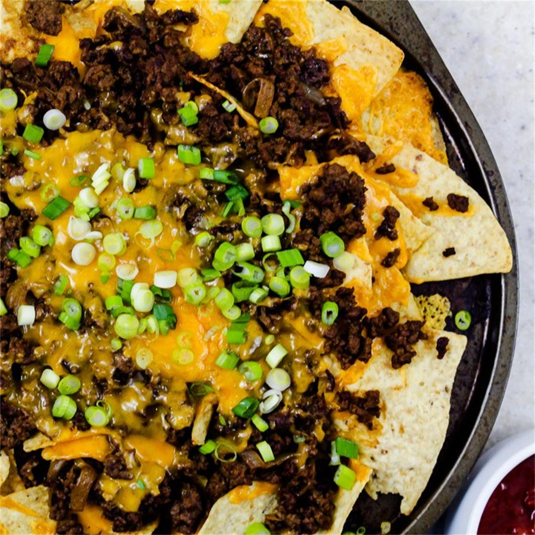 Cheesy Beefy Nachos