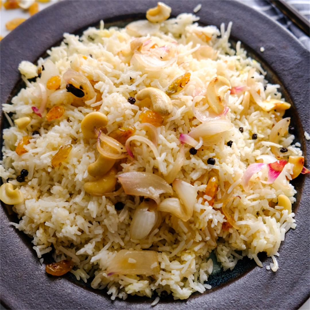 Ghee Rice  This Ghee rice recipe is extremely flavourful, the r