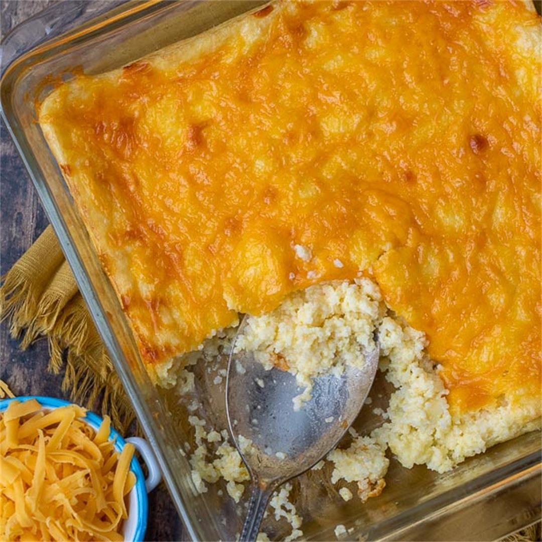 Easy Cheese Grits Casserole