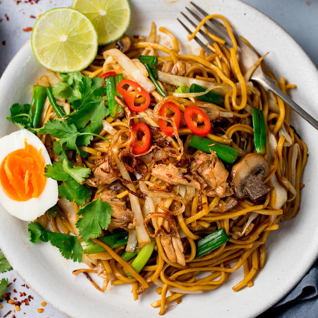 Spicy Mee Goreng (Fried Noodles)