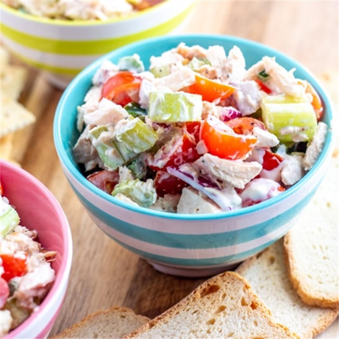 The Best Tuna Salad Ever! (Not your Mama's Tuna Salad)