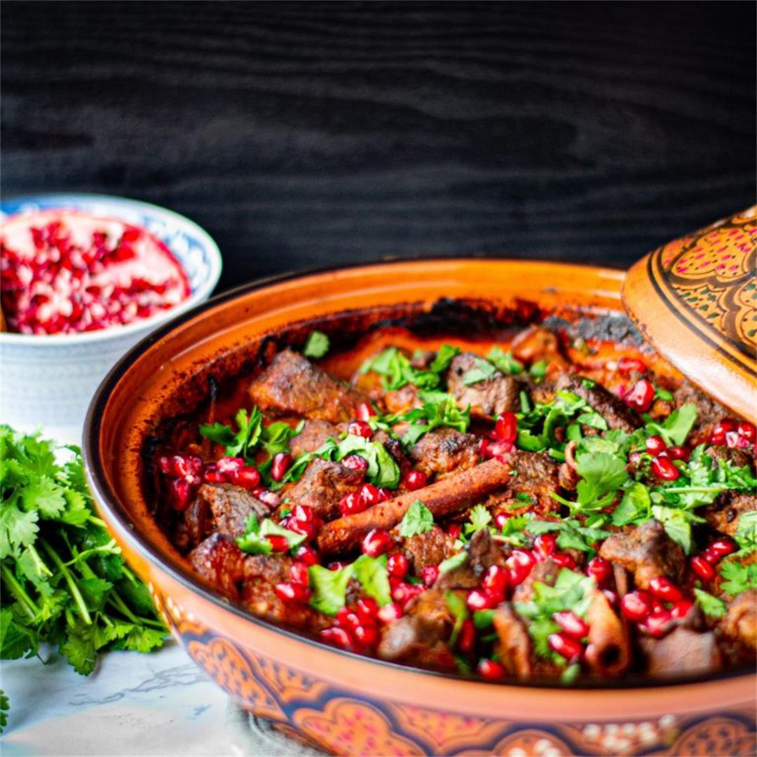 Moroccan Lamb & Apricot Tagine