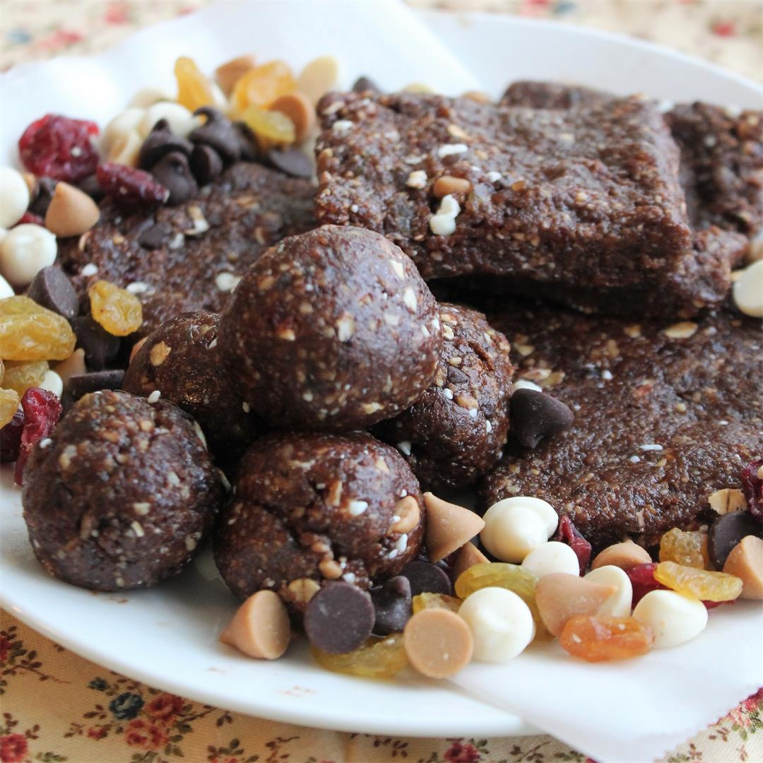 No-Bake Fruit and Nut Bars – My Recipe Reviews