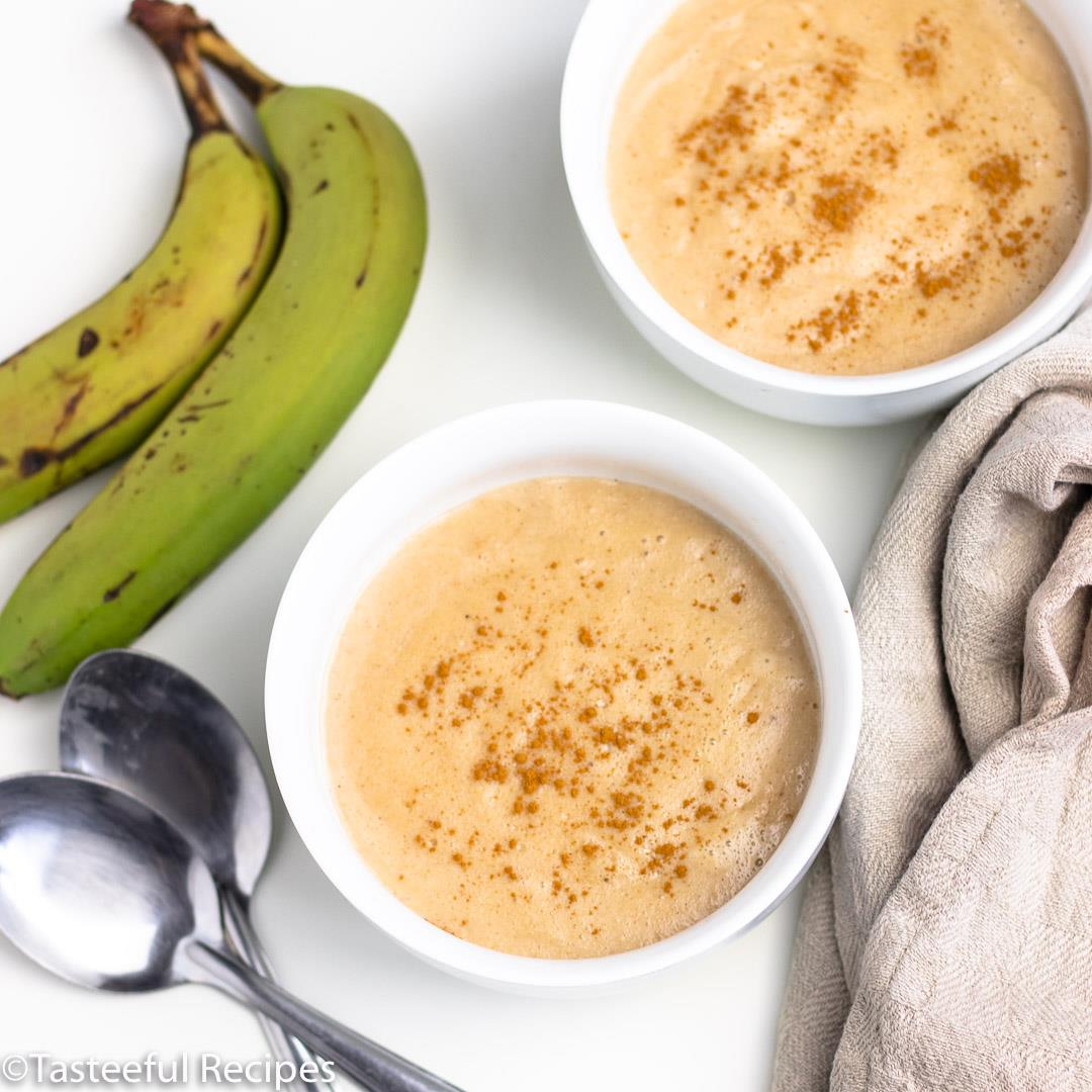 Jamaican Style Green Banana Porridge