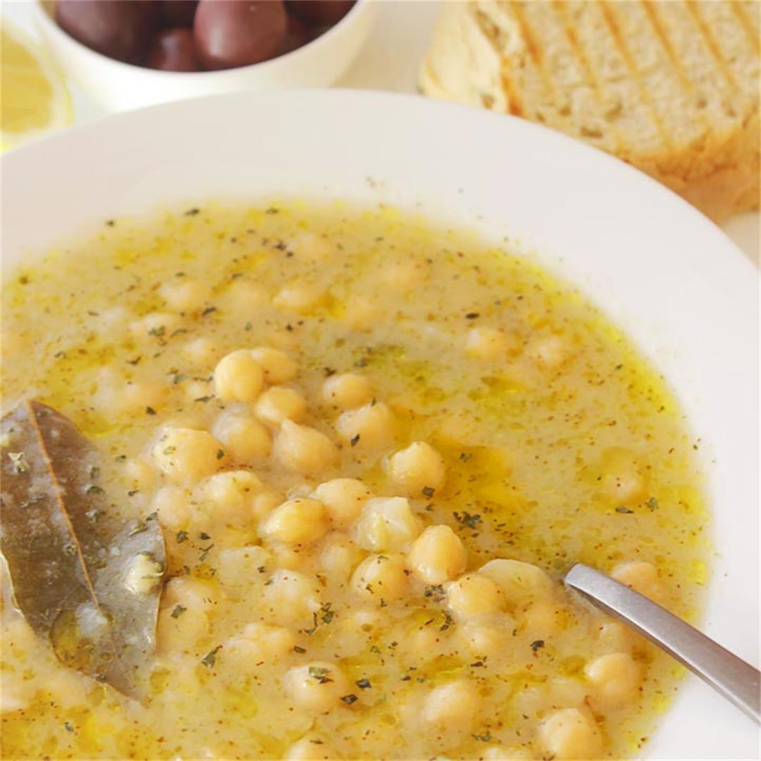 Greek Chickpea Soup