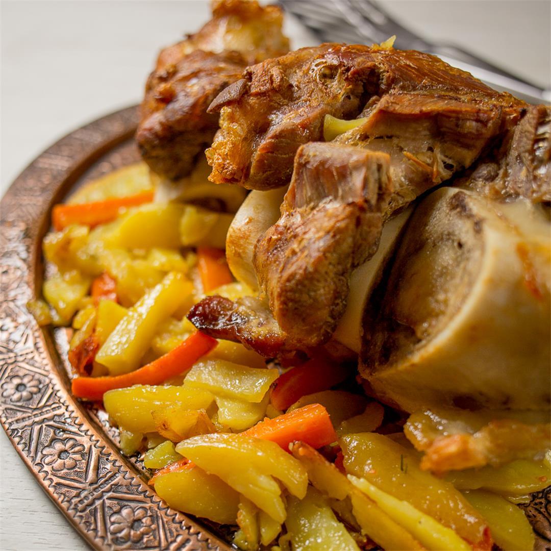 Veal Shank Roast