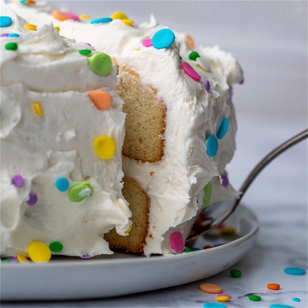 Fluffy & Moist Gluten Free White Cake