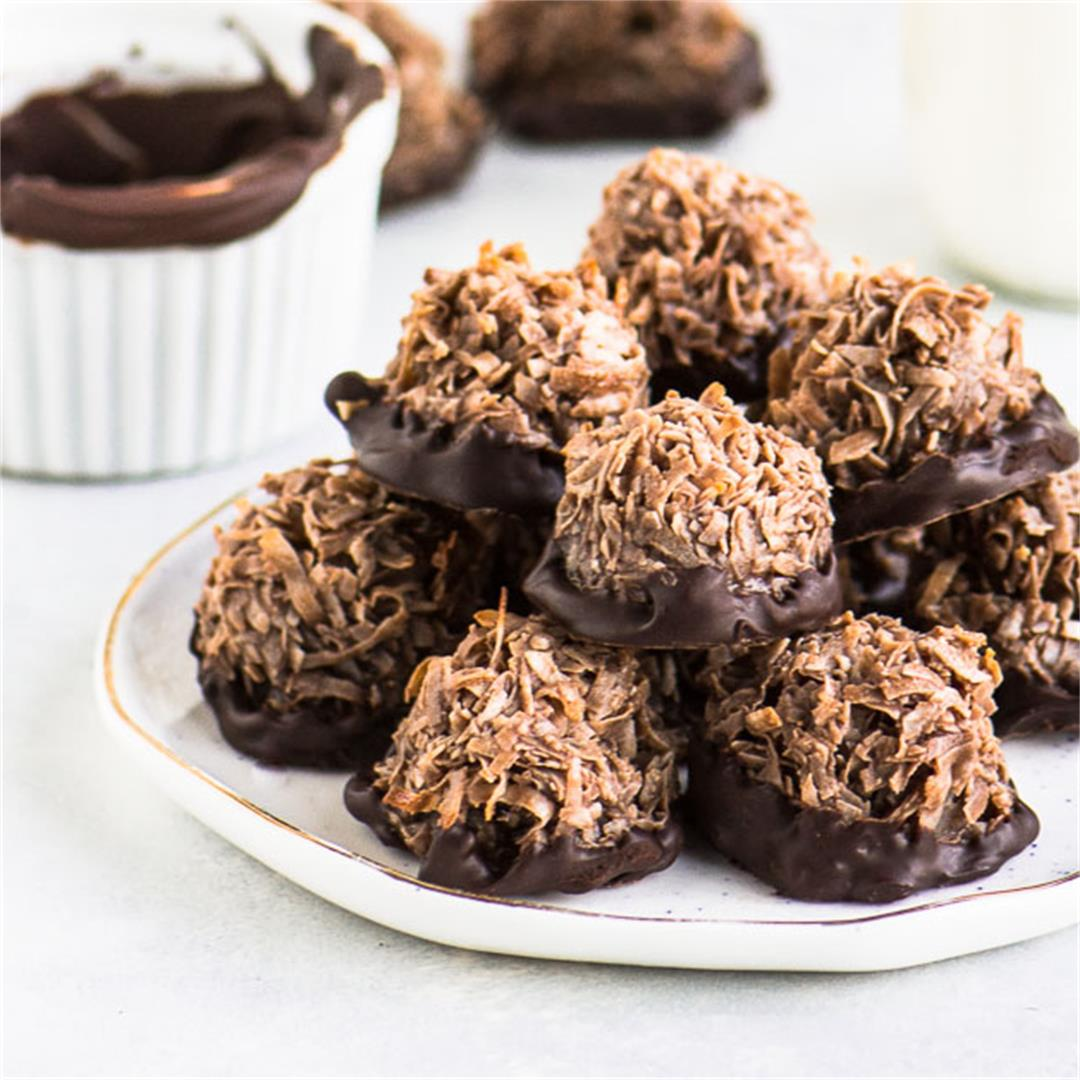 Easy Chocolate Macaroons