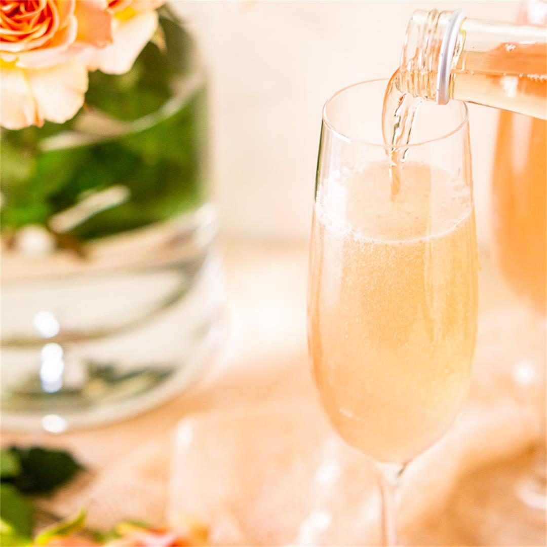 Sparkling Rosé French 75