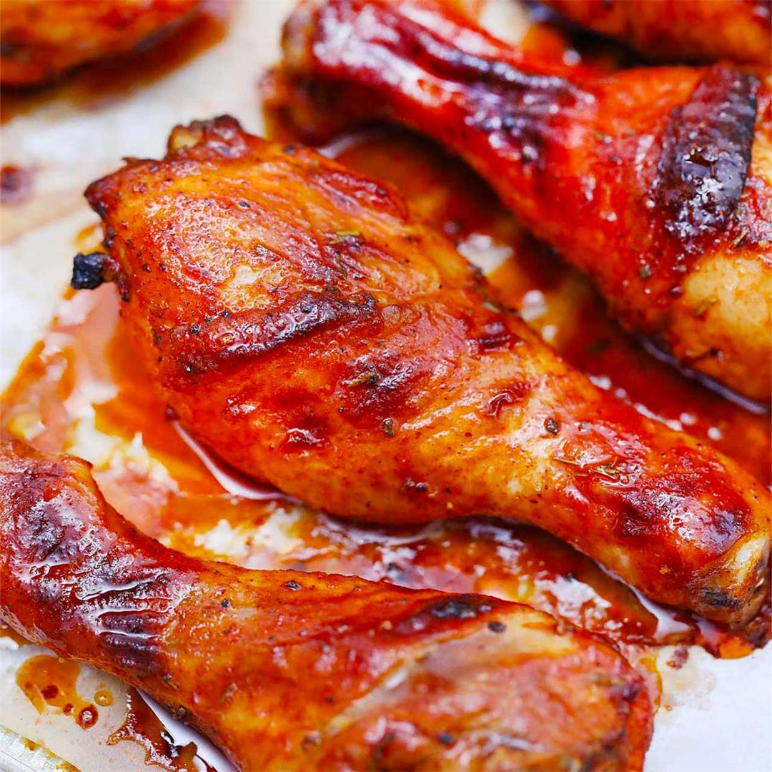 Perfectly Crispy Baked Chicken Legs