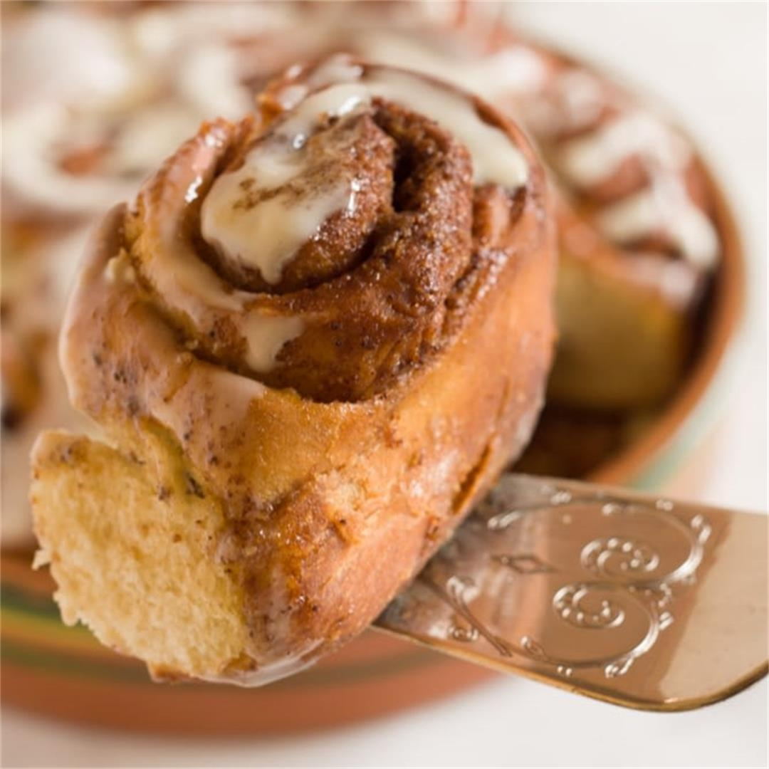 THE BEST CINNAMON ROLLS FROM SCRATCH (+ Make-ahead Options) -