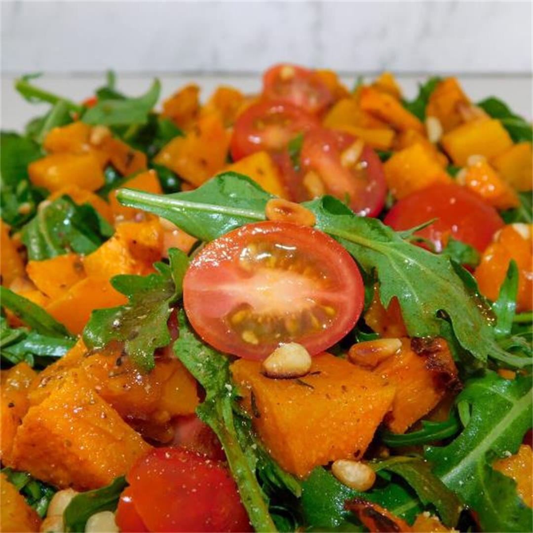 Rocket and Pumpkin Salad