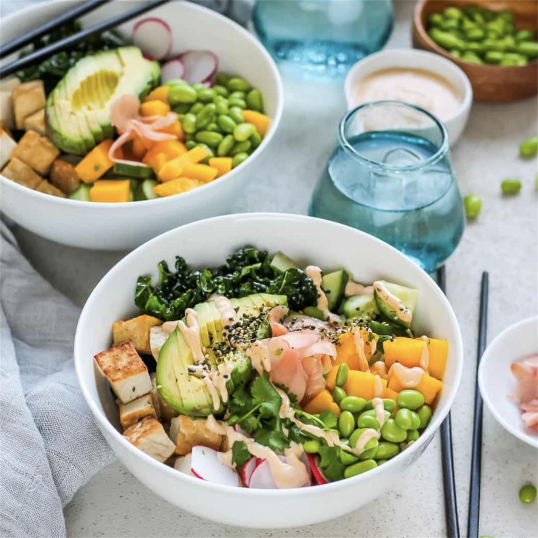 Vegan Poké Bowls