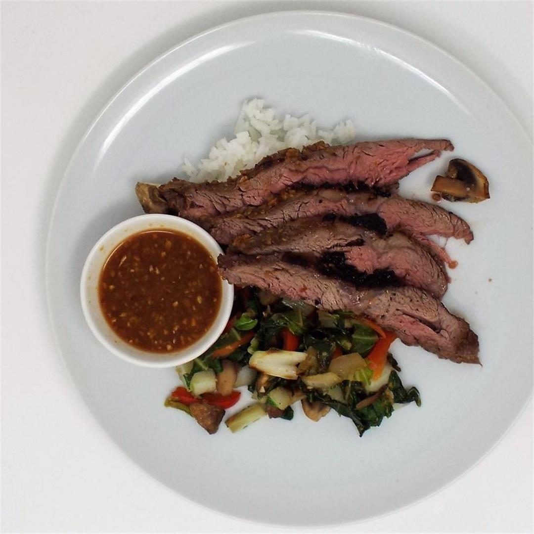 Soy Ginger Flank Steak