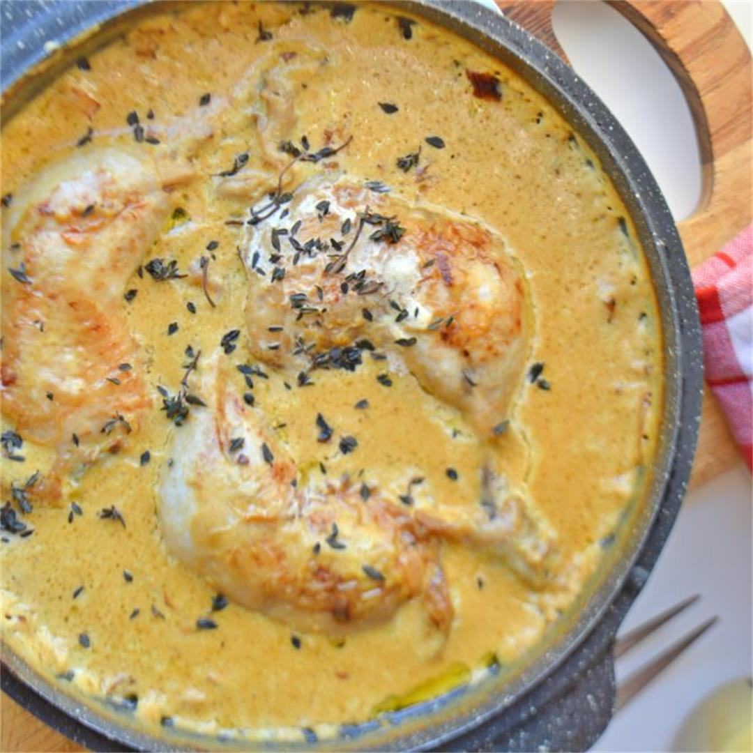 Easy Creamy Mustard Chicken — Tasty Food for Busy Mums