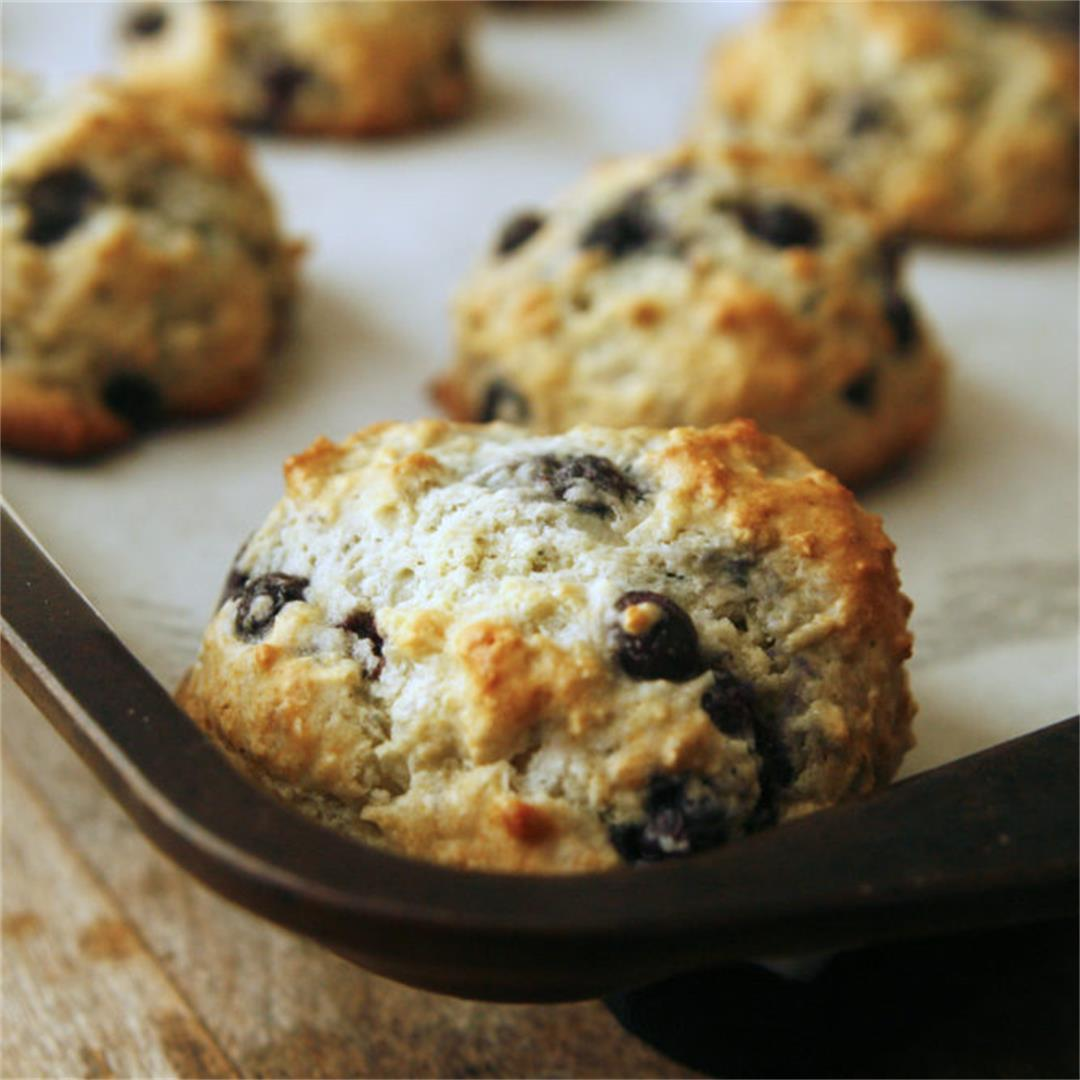 Blueberry Muffin Tops Recipe