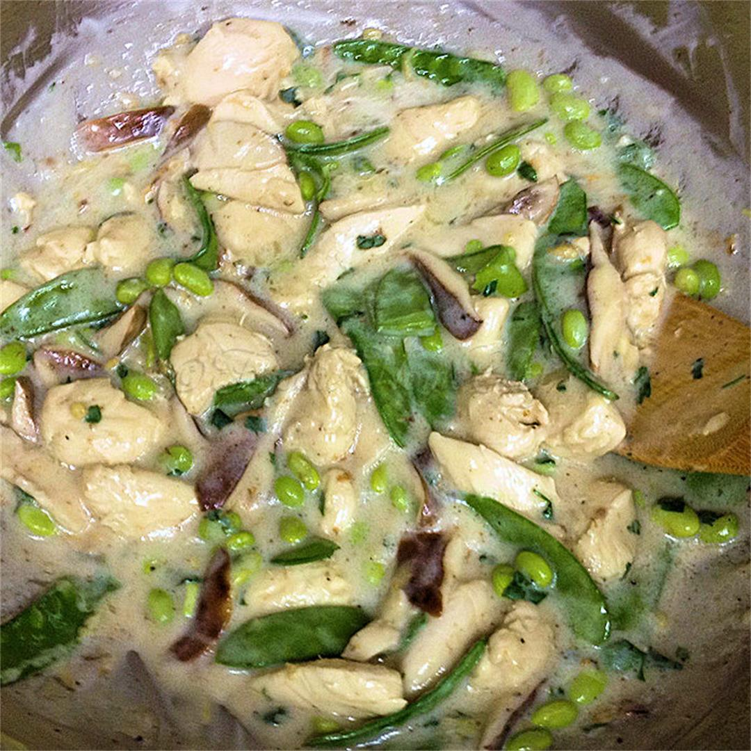 Shiitake Ginger Chicken